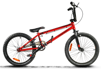 BMX Crazy Pro red matt
