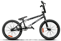 BMX crazy Lite black matt