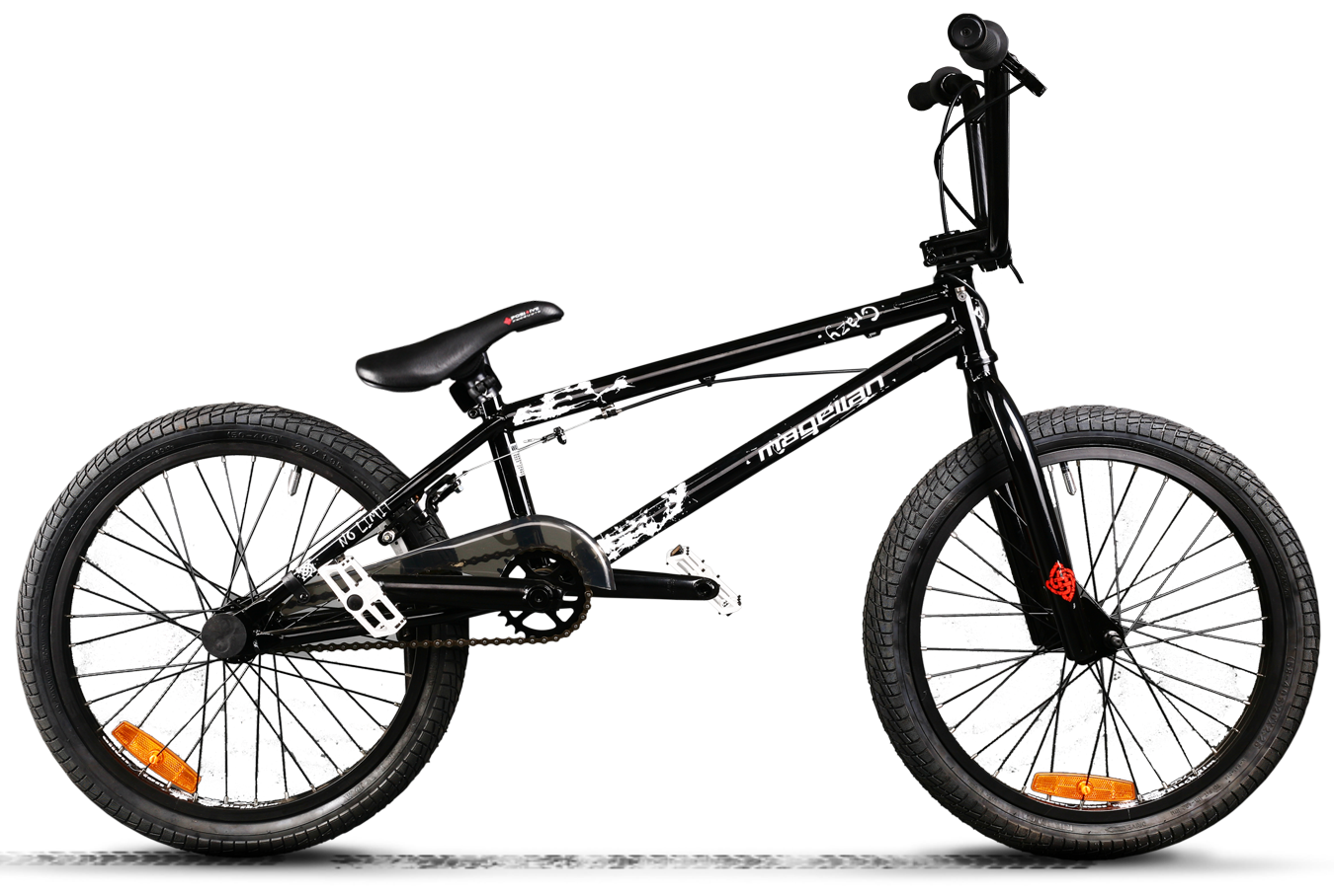 BMX Crazy comp black matt