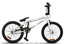 BMX Crazy comp white