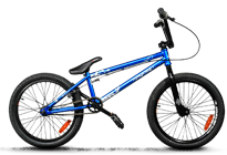 BMX Crazy comp blue